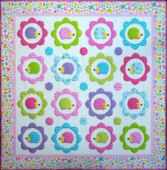 Melly and Me - Happy Hedgehogs Quilt Pattern