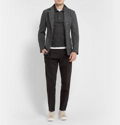 Dolce & Gabbana - Slim-Fit Wool-Blend Blazer|MR PORTER