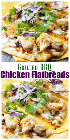 This Grilled BBQ Chicken Flatbread Recipe is so easy and flavor packed! Your family will love this easy grilled dinner recipe! Bbq Chicken Flatbread, Grilled Pizza, Grilled Chicken Recipes, Breaded Chicken, Flatbread Pizza, Chicken Wraps, Grilling Recipes, Cooking Recipes, Pizza Recipes
