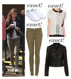 """""""Elounor- Eleanor exacts"""" by eleanor-calder-closet ❤ liked on Polyvore featuring Converse, Topshop, Zara, eleanorcalder, eleanorcalderstyle and eleanorcalderexacts"""
