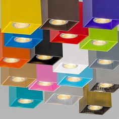 Spot Qubo #multikolorowelampy #barwnelampy #kolorowalampa