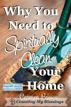 You and I grab our cleaning products to tackle physical dirt and grime in our homes but what about the burden of spiritual dust and cobwebs? Sometimes the weight of life takes our homes from safe sanctuary to stress-filled oppression. Prayer Scriptures, Bible Prayers, Faith Prayer, Bible Verses, Lord's Prayer, Serenity Prayer, Bible Teachings, Prayer Closet, Prayer Room