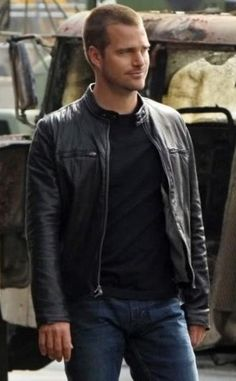 Buy Online Callen NCIS Los Angeles Jacket for Men's, Shop this Chris O'Donnell Jacket now Available Discounted Price at Desert Leather.  #NCIS:LosAngeles #TVseries #ChrisO'Donnell #G.Callen #MensJackets #Fashion #Cosplay #geektyrant #celebrity #geek #sale #Shopping #MensWear #MensFashion #MensOutfit