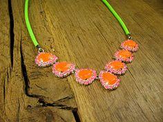 Fun summer statement necklace