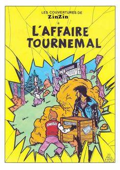 Tintin - Pastiches, parodies & pirates- Les couvertures de Zinzin