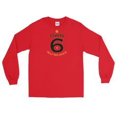 Own 6, Long Sleeve T-Shirt - Mannish Clothiers