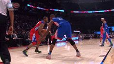 Funny NBA   ... humilating-move-in-all-stars-2013