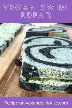 Vegan Breakfast Recipes, Delicious Vegan Recipes, Vegan Teas, Bread Recipes, Cooking Recipes, Cute Food, Plant Based Recipes, Bread Baking, Baked Goods