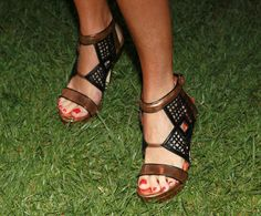 "Taryn Manning Photos Photos - Actress Taryn Manning (shoe detail) attends the launch party for Tommy Hilfiger's ""Prep World Pop Up House"" at The Grove on June 9, 2011 in Los Angeles, California. - Launch Party For Tommy Hilfiger's ""Prep World Pop Up House"""
