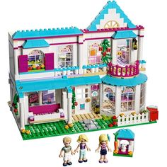 LEGO Friends Stephanie's House 41314 Build and Play Toy House with Mini Dolls, Dollhouse Kit Pieces) Lego Girls, Toys For Girls, Harry Potter Advent Calendar, All Lego, Lego Lego, Lego Friends Sets, Lego Construction, Dollhouse Toys, Alice