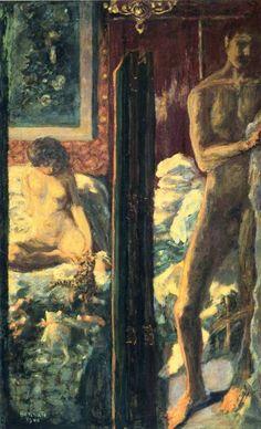 Pierre Bonnard, L'homme et la femme, 1900. Paris, musée d'Orsay.