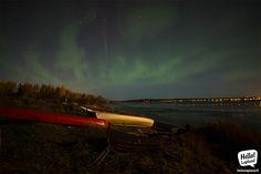 Aurora Borealis 24.9.2013 in Rovaniemi, Lapland, Finland.