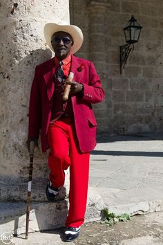 A gentleman in Havana, Cuba