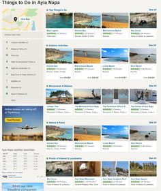 Find the top things to do in Ayia Napa on TripAdvisor Ayia Napa, Nissi Beach, Stuff To Do, Things To Do, Cyprus, Outdoor Activities, Trip Advisor, Water, Top