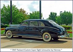 1947 Packard Super Eight Limousine