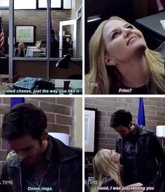 Can they be anymore adorable?!? #CaptainSwan :)