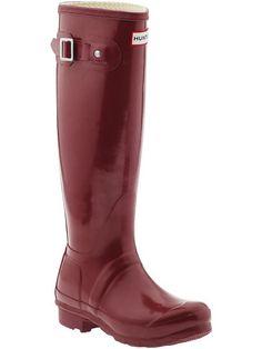 Crimson Hunter Rain Boots