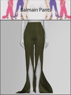 BALMAIN PANTS for The Sims 4