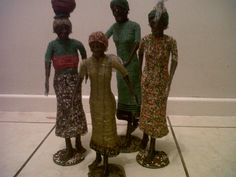 Handcrafted Figurines from Zimbabwe