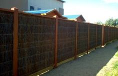 brush fencing ideas - Google Search