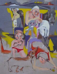 The flood. Acrylic on canvas.