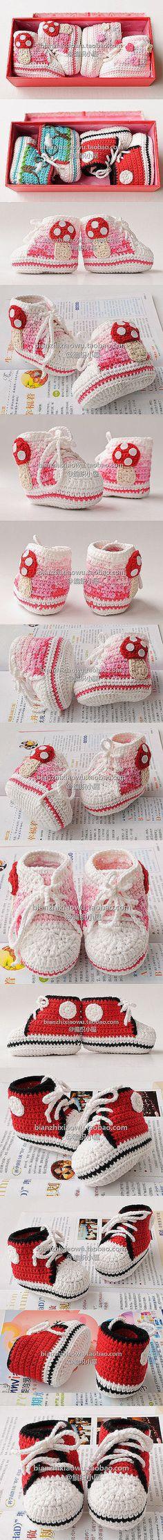 Zapatillas tipo Nike para bebé
