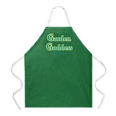 Gardening aprons - Pin it :-) Follow us :-)) zGardensupply.com is your Garden Supply Gallery ;) CLICK IMAGE TWICE for Pricing and Info :) SEE A LARGER SELECTION of gardening aprons at http://zgardensupply.com/category/garden-supply-categories/gardening-clothing-gear/aprons/ -  garden, gardening, gardening gear, gardening clothes, garden aprons -  Attitude Apron Garden Goddess Apron, Green, One Size Fits Most « zGardenSupply