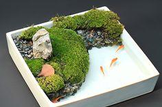 http://sanvuonxanh.com/kien-thuc/chau-ca-san-vuon-dep-de-ban/ Điều hấp dẫn, lý thú của thể loại sân vườn mới này là những tiểu cảnh được cố gắng mô tả vừa y như thật, vừa tối giản nhất có thể. Lối nghệ thuật của Nhật luôn đặc trưng bởi sự đơn giản nhưng đằng sau đó luôn là sự phức tạp ít ai biết