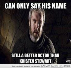 HODOR > Kristen Stewart