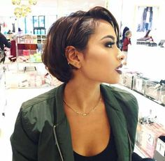 110 Perfect Bob Hairstyles This Year 110 Perfect This Year short black bob hairstyles 2018 - Bob Hairstyles Pixie Hairstyles, Black Bob Hairstyles, African Hairstyles, Straight Hairstyles, Hairstyles 2018, Relaxed Hair Hairstyles, Short African American Hairstyles, Weave Bob Hairstyles, Wedding Hairstyles