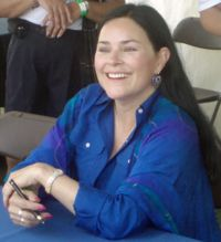 Diana Gabaldon - ALL of her books are well worth reading. I love getting lost in her world.