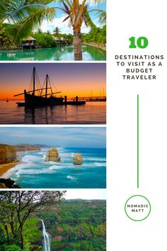 10 Destinations to Visit When You're a Budget Traveler | The world is full of affordable destinations for the budget traveler. I think these ten places give you the most bang for your buck and shouldn't be missed.