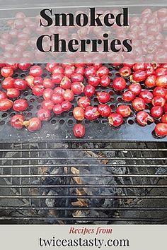 Frozen Cherries, Sweet Cherries, Smoked Meat Recipes, Grilling Recipes, Sour Cream Scones, Cherry Recipes, Smoking Recipes, Green Fruit, Stone Fruit