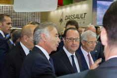 Le Bourget : François Hollande inaugure le 51e salon aéronautique - Politique - via Citizenside France. Copyright : Christophe BONNET - Agence73Bis