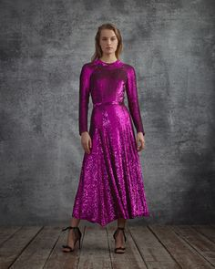 New season sequins. The Ray Sequin Dress by Alice Temperley in the Autumn 2018 #SheWhoDaresWins lookbook. Shop the new collection now in-store and online.