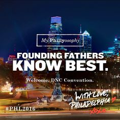 It's Official: Philadelphia Selected To Host The 2016 Democratic National Convention!!