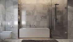 Calacatta bathroom on Behance