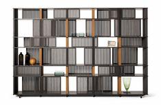 Le meilleur du Salon de Milan 2016 : Bibliothèque Lloyd, Jean-Marie Masasud (Poltrona Frau)
