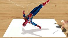 3D Colored Pencil Drawing of Spider-Man in Avengers: Infinity War | Jasm...