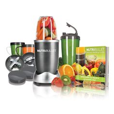 To get the most out of your life, you need to get the most out of your food! This NutriBullet Special Edition 14-Piece Set comes with the best-selling 600W extractor kit, plus several additional accessories – a total value of $60 – all for just $10 more!