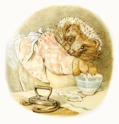 From my Beatrix Potter collection. I love anything Beatrix Potter. Tales Of Beatrix Potter, Beatrix Potter Illustrations, Beatrice Potter, Peter Rabbit And Friends, Childhood Stories, Whimsical Art, Fairy Tales, Illustration Art, Creatures