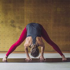 Head down to practice | New women's yoga gear