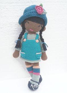 Muñeca Anni de anigurumis