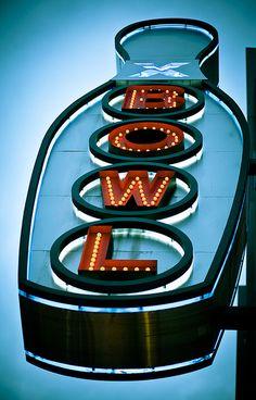 Bowling Sign by Glenn Taylor, via Flickr