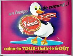 Pulmoll vintage poster