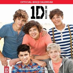 $10.19 One Direction 2013 Square 12x12 Wall Calendar