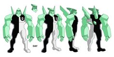 Concept Arts of Ben 10 by Dave JohnsonThe work below was created by artist Dave Johnson. Dave lives in Los Angeles and its portfolio also has work in the areas of animation and a lot of illustration Character Model Sheet, Character Modeling, 3d Modeling, Cartoon Shows, Cartoon Characters, Paper Doll Craft, Android Art, Ben 10 Omniverse, Alien Character