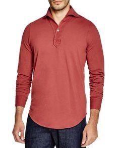 Eidos Long Sleeve Polo - Regular Fit