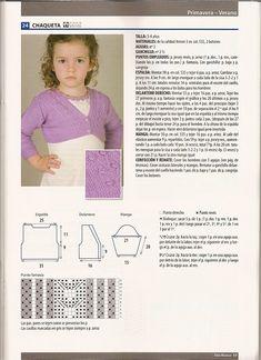 SOLO ROPITA DE BEBE EN PUNTO, GANCHILLO Y TELA (pág. 772) | Aprender manualidades es facilisimo.com Knitting For Kids, Words, Crochet, Diy, Knits, Crochet Motif, Crochet Granny, Knitting Machine, Handarbeit