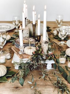 Pulling it together ~ Thanksgiving/Fall Tablescape Ideas ~ LeCultivateur